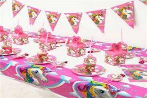 manteles para fiesta de unicornio