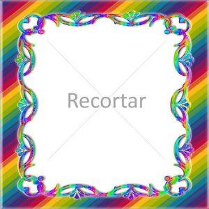 marco unicornio arcoiris