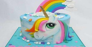 Pastel de Unicornio